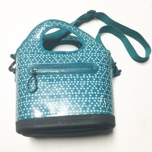 Olivet Teal Insulated Structured Lunch Box